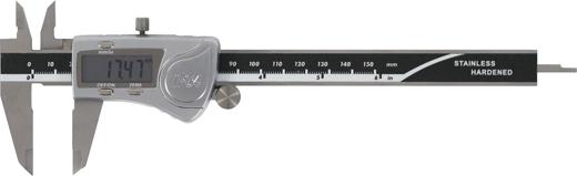 Digitaler Messschieber 150 mm, spritzwassergeschützt nach IP54