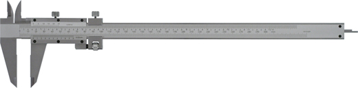 Messschieber   300 mm mit Feinverstellung, Noniuswert 0,02