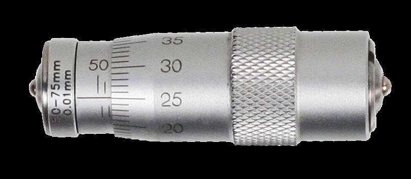 Innenmessschraube mit fester Länge  50-75 mm -  Form A 1