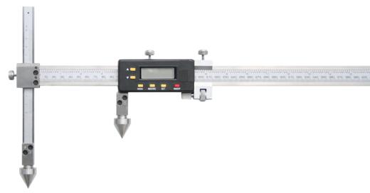 Digitaler Messschieber für die Abstandsmessung, Mittelpunkt-Mittelpunkt 1000 mm