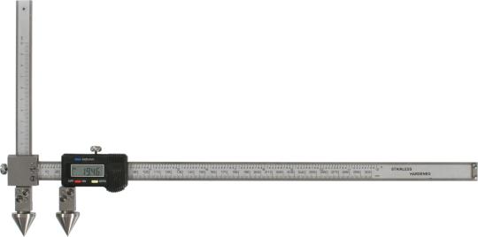 Digitaler Messschieber für die Abstandsmessung, Mittelpunkt-Mittelpunkt 300 mm