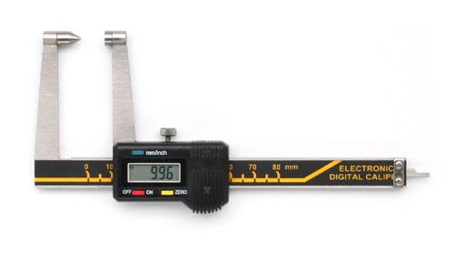 Digitale Bremsscheiben-Messschieber mit spitzer Messfläche  75 mm