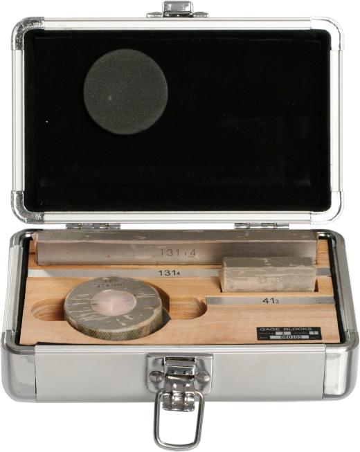 Kalibrierter Messschieber-Prüfsatz zur Überprüfung der Einhaltung der Fehlergrenzen eines Messschieber nach DIN 862  150mm