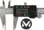 METEHA Digital Messschieber 150 mm DIN 862- ABS/Origin